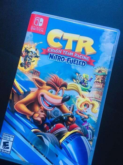 Crash CTR Team Racing Nintendo switch
