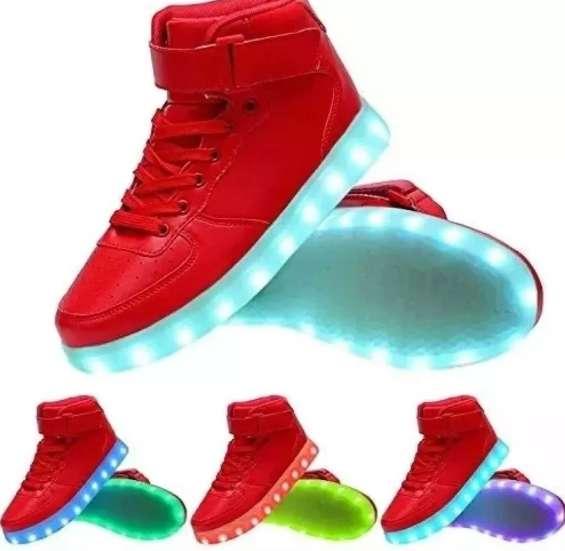 Zapato Tenis Led Unisex