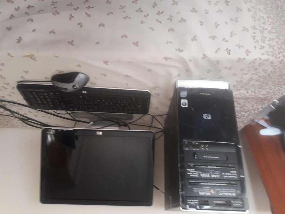 VENDO COMPUTADOR HP DE 500GB