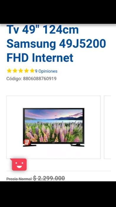 OFERTA TV LED Samsung 49 FHD Smart TV UN49J5290A OBSEQIO 1 Meses de NETFLIX 4K , Aprovecha