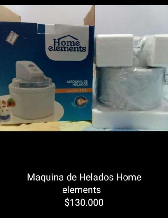 Maquina de Helados Home Elements