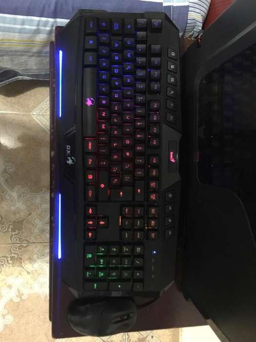 Combo Teclado Genius Gamer Y Mouse