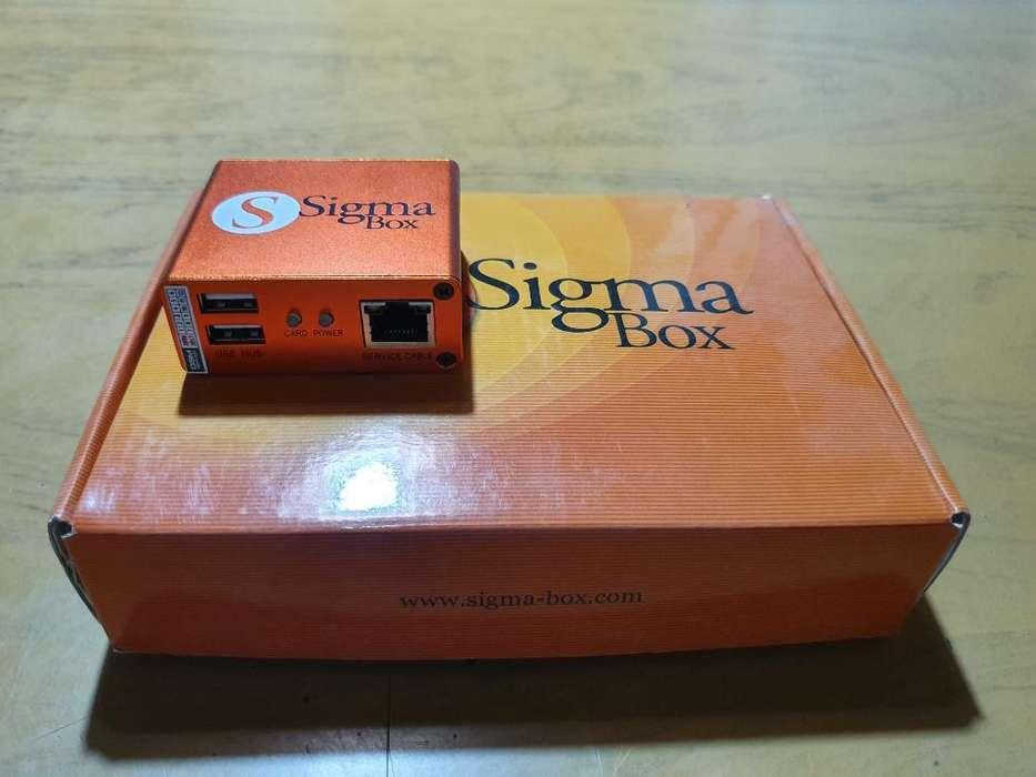 Box Sigma con Packs 1 Y 2
