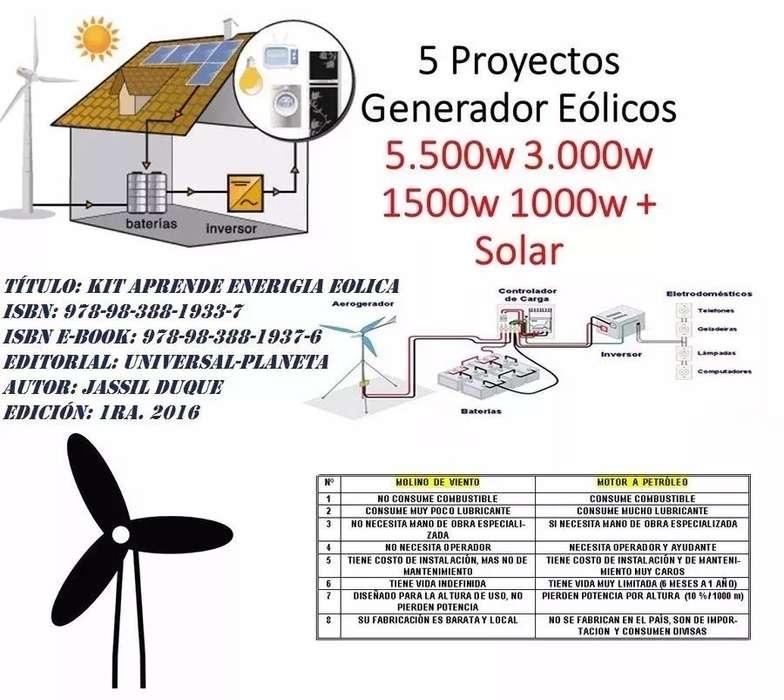 Proyectos Generadores Eólicos Solares Termicos