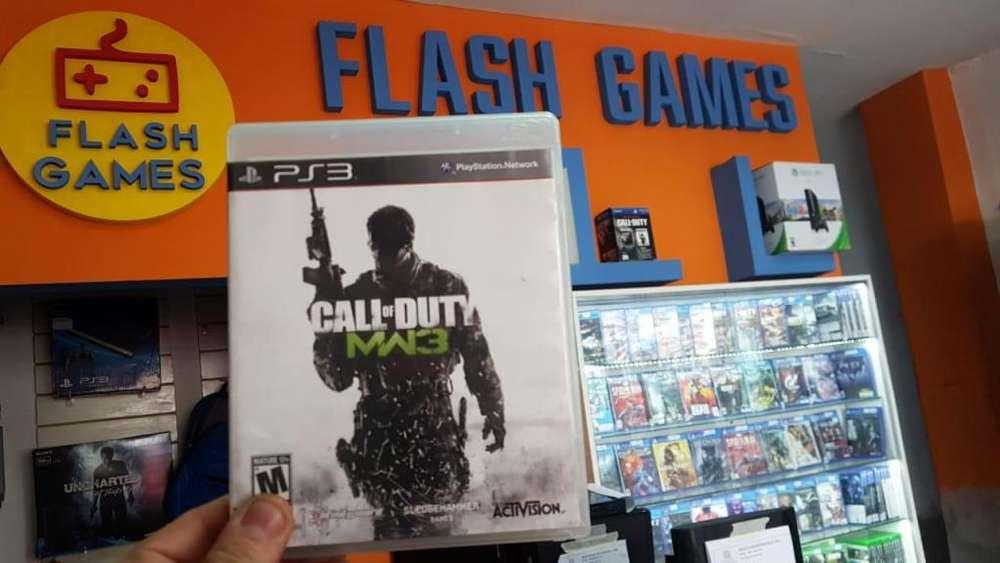 Call of Duty MW3. juegos para play 3. recibo tarjetas. garantía. físico usado. local céntrico. ps3