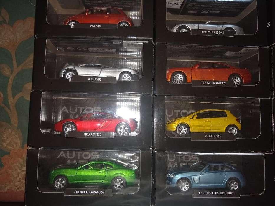 Coleccion Autos Metalicos El Comercio