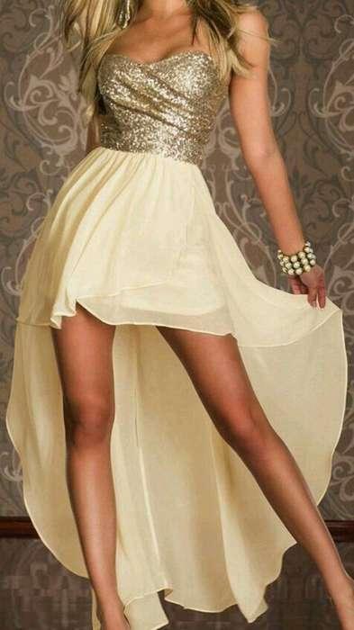 Vestido de Fiesta Talle L
