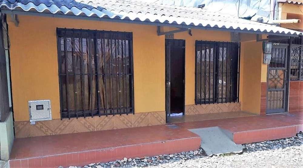 Se vende casa en el barrio villa paz sector de las garzas