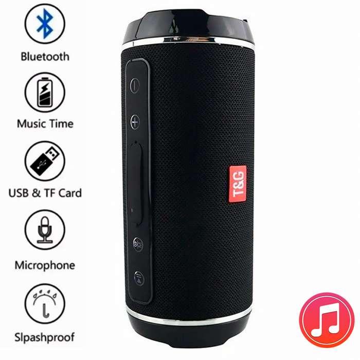 Parlante Multifuncional Tg 116c Pro HD Bass Bluetooth Sonido-HD Bass Buffer USB SD AUX Llamadas Microfono