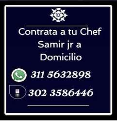 CHEF PRIVADO / DOMICILIO