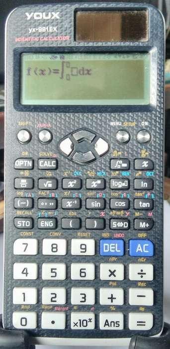 Calculadora Youx Yx-991 Ex