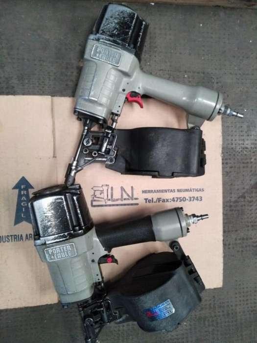 Porter Cable Roll 70mm clavo en rollo espiralado USADA CON GARANTIA Y REPUESTOS