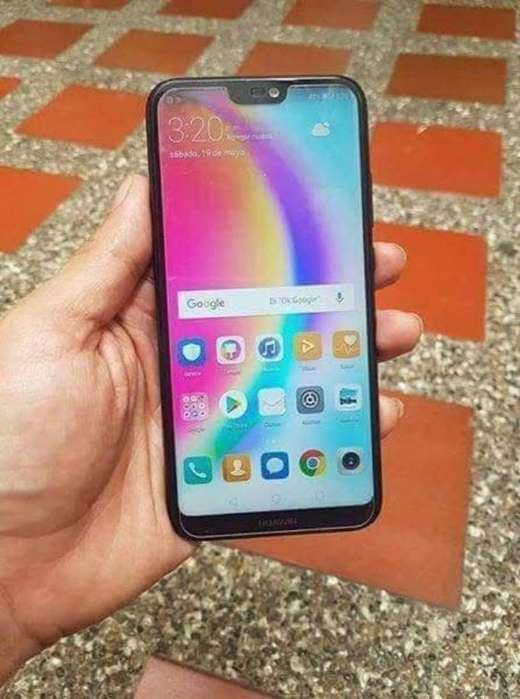 Huawei P20 Lite Negro 32 Gb Como Nuevo