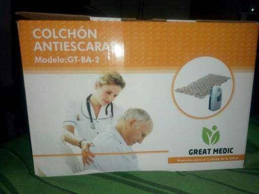 COLCHON ANTIESCARAS GREAT MEDIC CAPACIDAD 135 KG