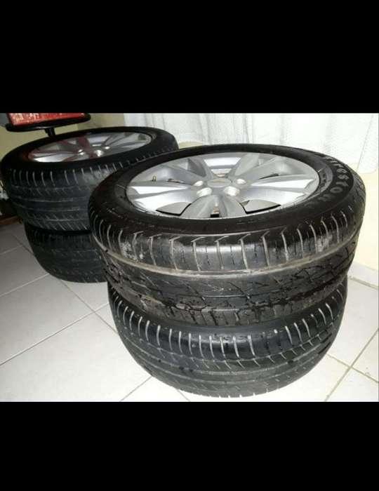 Llantas Del Chevrolet Cruze R16 Muy Buen