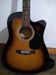 Guitarra Acústica Parquer Modelo Mystic