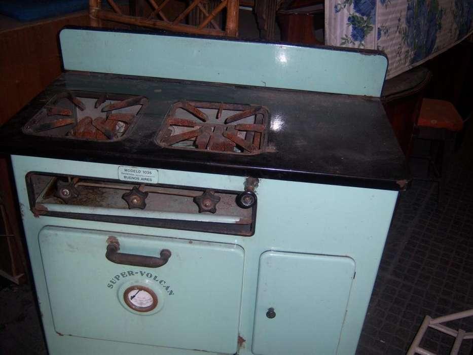 antigua cocina a kerosen de coleccion año 1950 marca volcan
