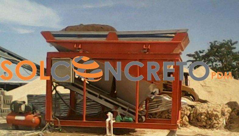 planta dosificadora de concreto