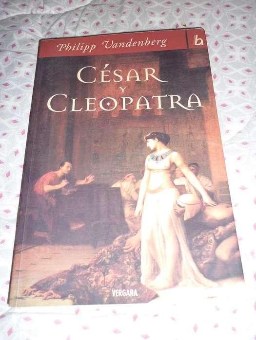Cesar Y Cleopatra . Historia de Roma y Egipto . Vandenberg . libro Vergara 2006