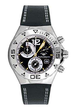 Technomarine Men's Watch TMYM24 with Black Dial and Black Strap Silicone