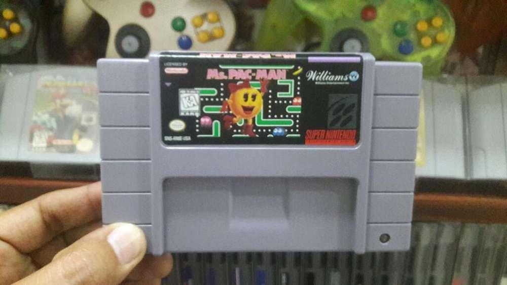 Juegos Super Nintendo Snes Nes N64