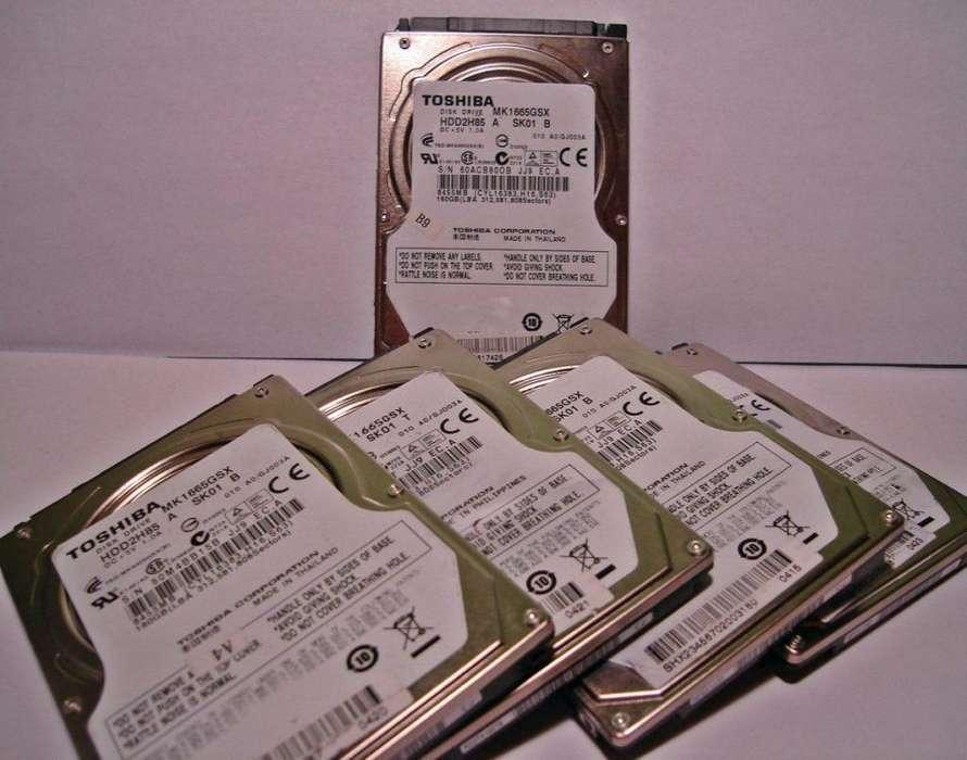 Discos Rigidos Usados para PCs y Note/Netbook.