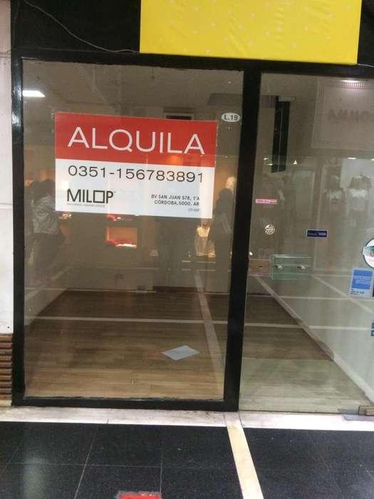 ALQUILER LOCAL COMERCIAL EN GALERIA PLANETA- POR ENTRADA 9 DE JULIO