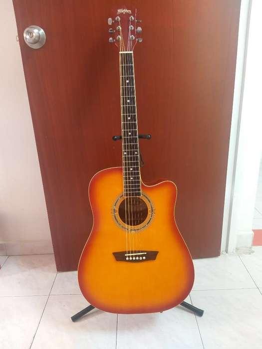 Guitarra Electroacustica Washburn Wa90