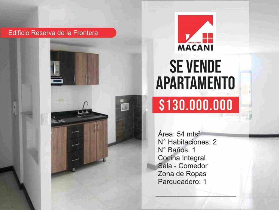 Se Vende Apartamento Edificio Reserva de la frontera