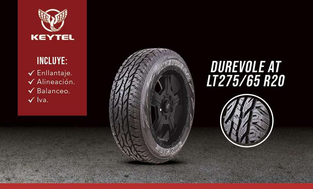 LLANTA SUNWIDE DUREVOLE AT LT275/65 R20 - <strong>ford</strong> F 150