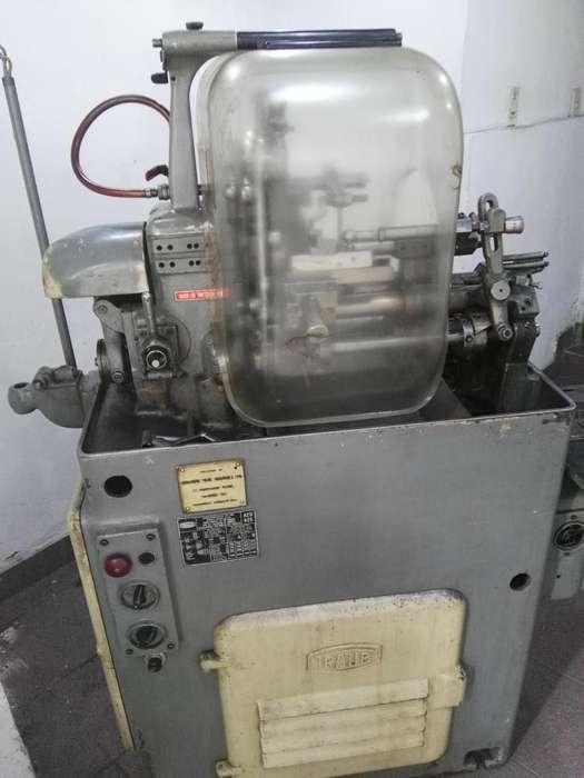 TORNO AUTOMATICO TRAUB operado por levas calibre 25