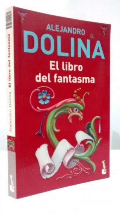 El libro del fantasma. Alejandro Dolina, usado en buen estado.