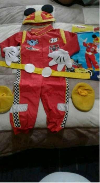 Disfraz Mickey sobre Ruedas Talla 12 A24