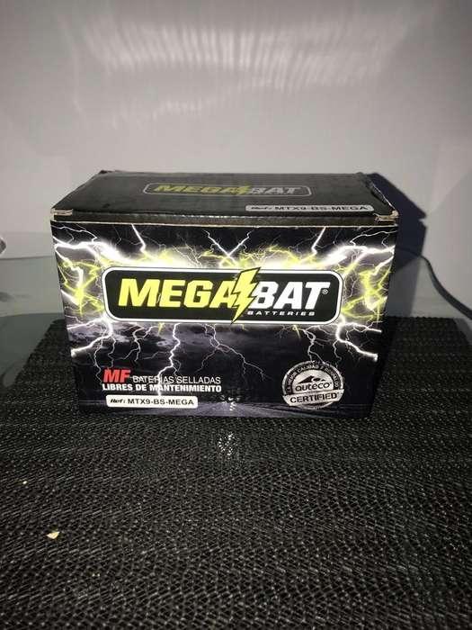 Bateria Moto 12 V 9 Amperios
