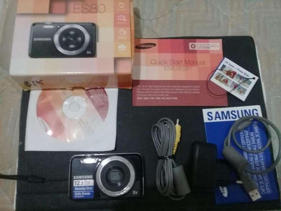 Cámara Samsung Es80 Como Nueva