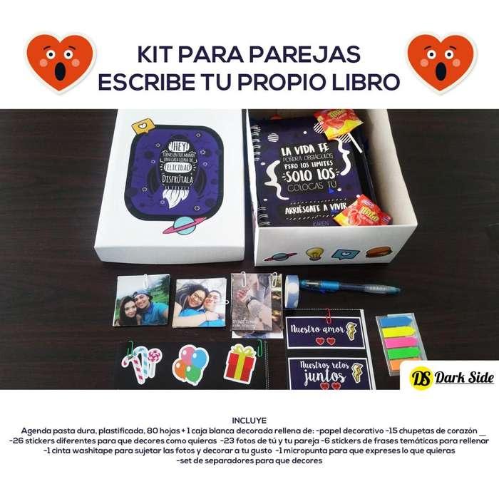 kit para parejas-tu libro de la felicidad-personalizado