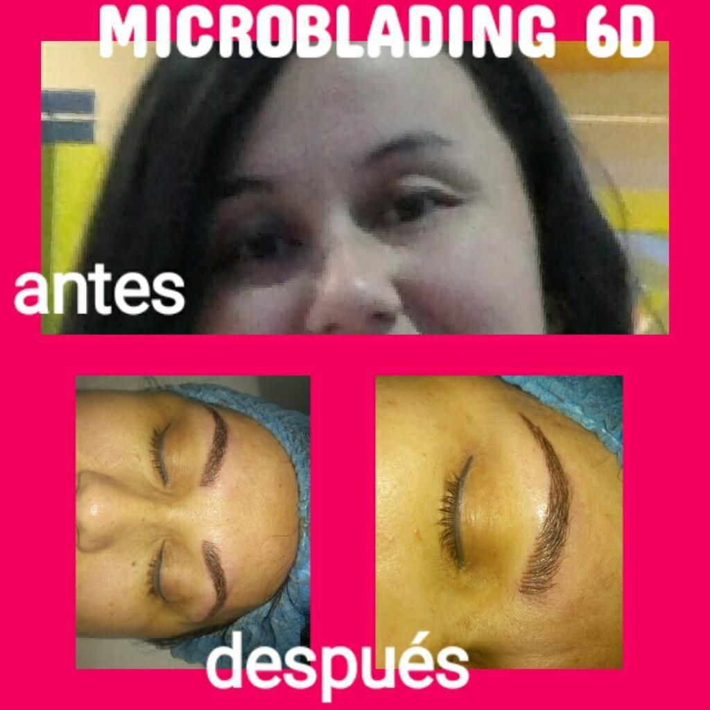 Cejas Pelo a Pelo Y Micropigmentacion