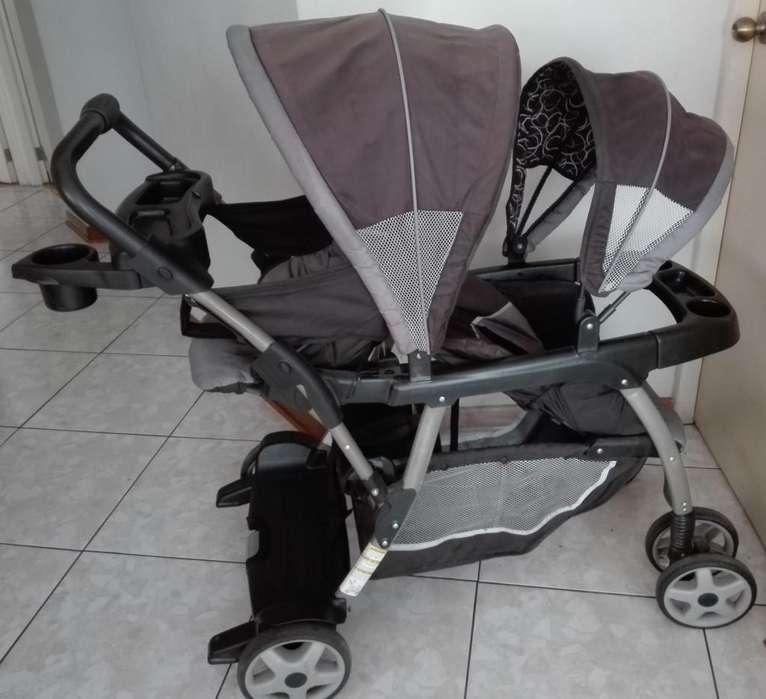 coche Graco Duo hermanos super oferta