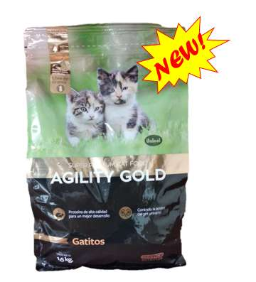 Gatitos- Agility Gold Super Premium