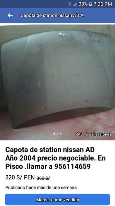 Capota para Nissan Ad 2006 Original