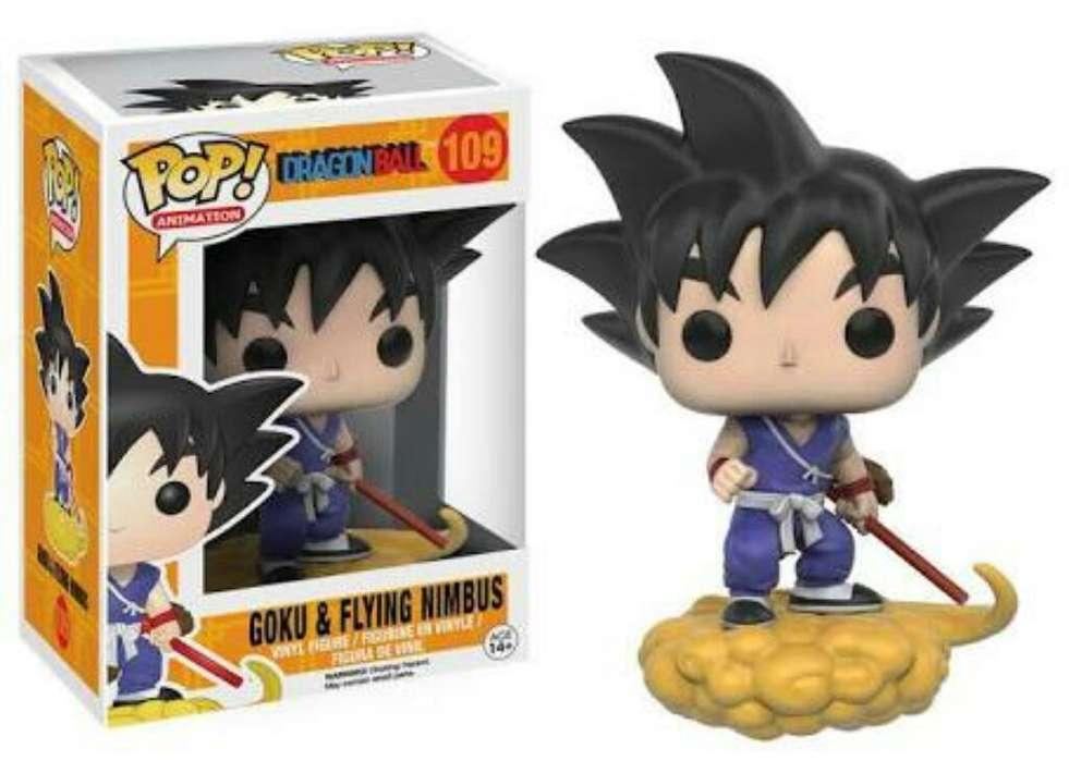 Funko Pop Goku en Su Nube Dragon Ball