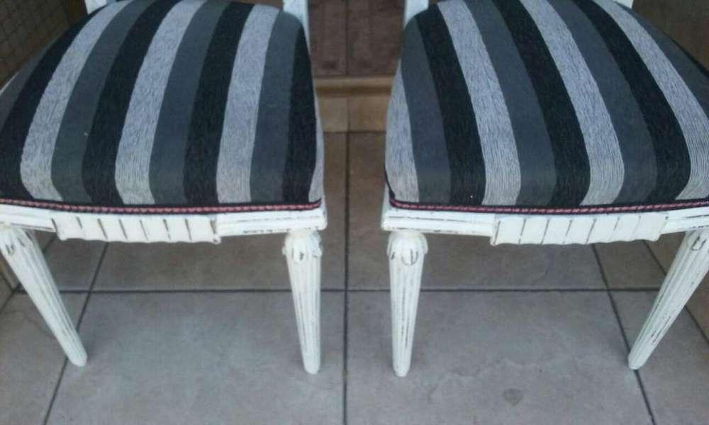 vendo 2 <strong>sillas</strong> restauradas / 2500 cada una