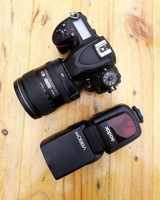 Nikon D750 24 120mm F4 Godox V860ii