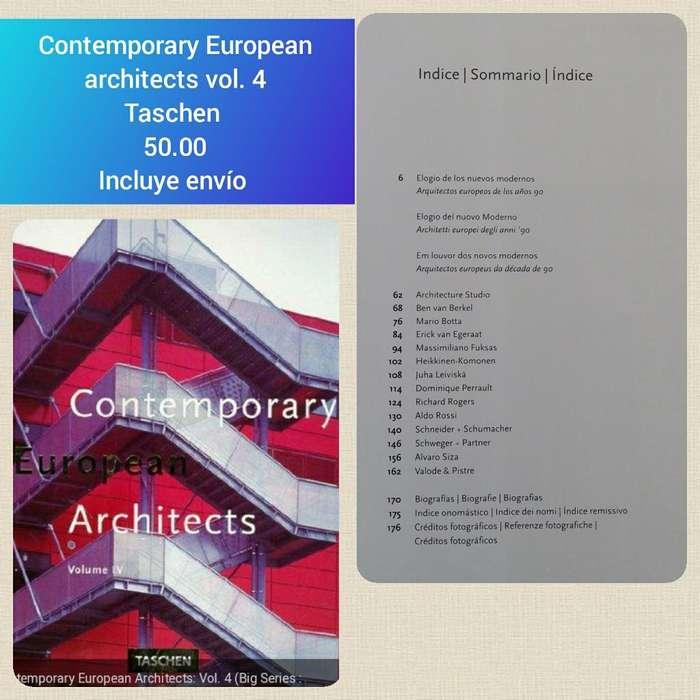 Contemporary European Architect Libro
