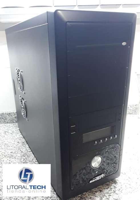 Gabinete KIT Sentey PS2-3271. LCD. 450 watts. Teclado-Mouse-Parlantes