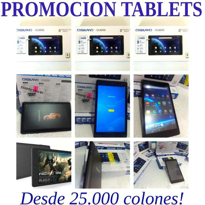 Tablets Android 7th Generacion HD Tablets Android Tablet en Caja!! PROMOCION/ Economicas