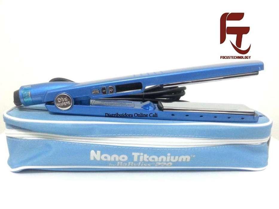 Plancha Nano Titanium Babybliss