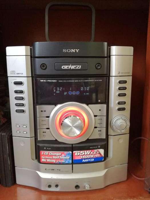 Equipo de Sonido Sony 1400 Watt