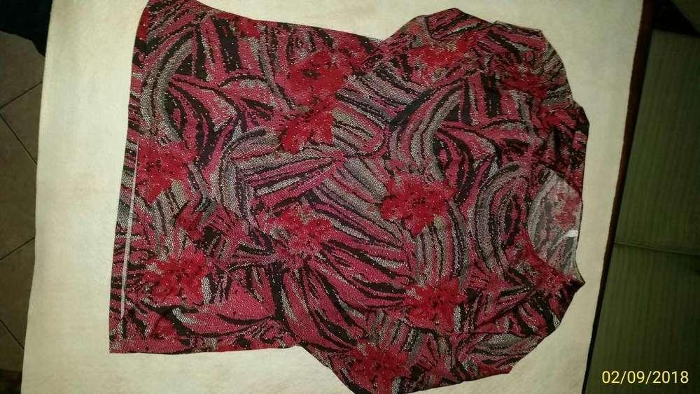 Remera de lycra de seda para mujer