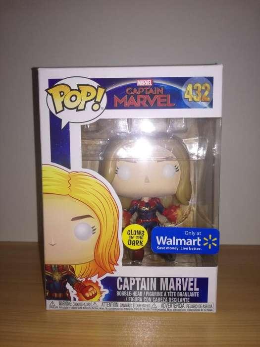 Funko Pop Captain Marvel (walmart) Gitd